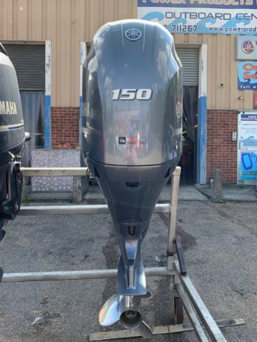 Yamaha f150hp outboard used for sale
